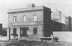 Alberini e Santoni, uffici e teatro di posa