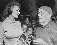 Sophia Loren e Filippi