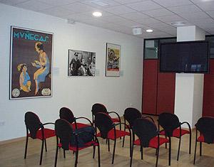 Una sala della videomediateca di Valencia