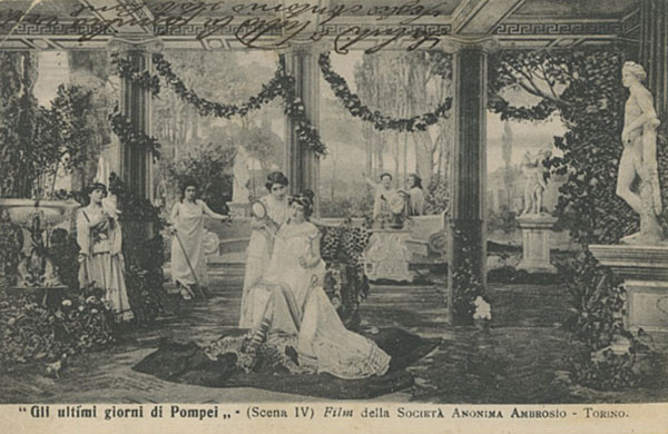 Gli ultimi giorni di Pompei, Società Anonima Ambrosio, Torino 1908