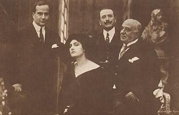Gustavo Serena, Francesca Bertini, Giuseppe De Liguoro, Camillo De Riso
