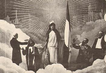 fotogramma di La presa di Roma 1905