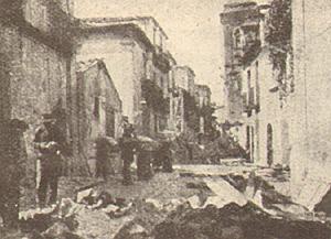 Dal film Terremoto in Calabria 1905