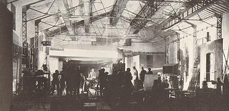 Interno Teatro di Posa 1926