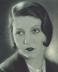 Kate von Nagy in Rotaie 1930
