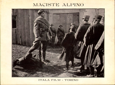 Bartolome Pagano in Maciste Alpino, Itala Film 1916