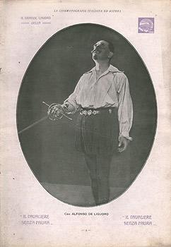 Giuseppe De Liguoro, Il cavaliere senza paura