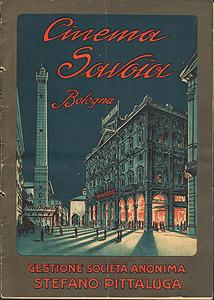 Cinema Savoia Bologna 1925