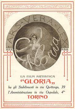 Logo di La Film Artistica Gloria, Torino