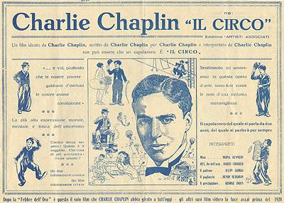 Charlie Chaplin, Il Circo