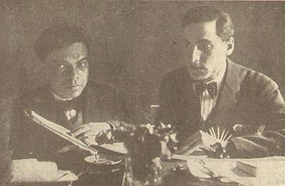 Corrado Alvaro, Ermete Santucci