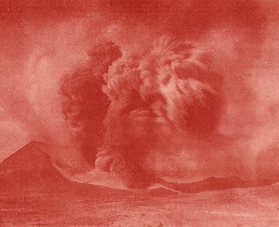 Eruzione dell'Etna marzo 1910