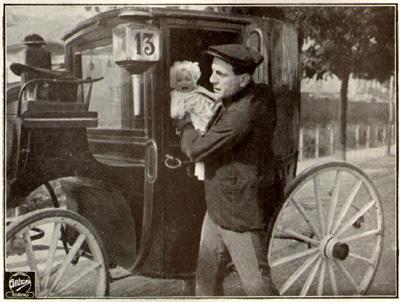 Il fiacre n. 13 Ambrosio 1917