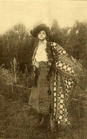 Vittoria Lepanto in Carmen (Film d'Arte Italiana 1909)