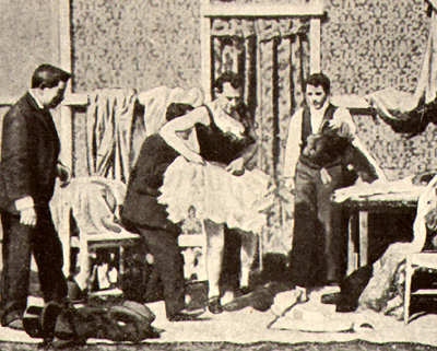 Fregoli dietro le quinte, versione 1901