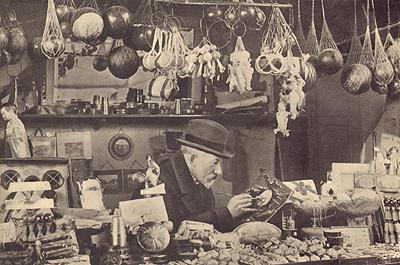 La bottega di Georges Méliès alla Gare de Montparnasse