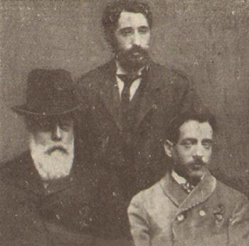 da sinistra a destra: Macaya, Chomon, Marro
