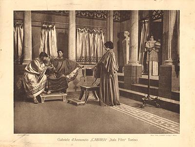 Cabiria, Itala Film 1914