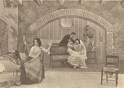 Nozze tragiche, film del 1906
