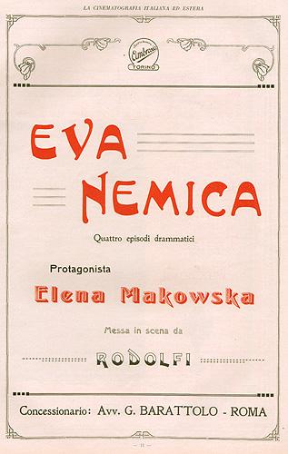 Eva nemica Ambrosio 1916