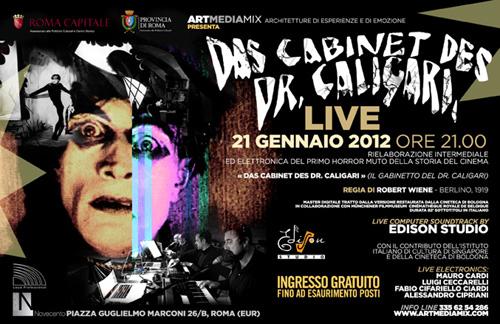 Dr. Caligari Edison Studio