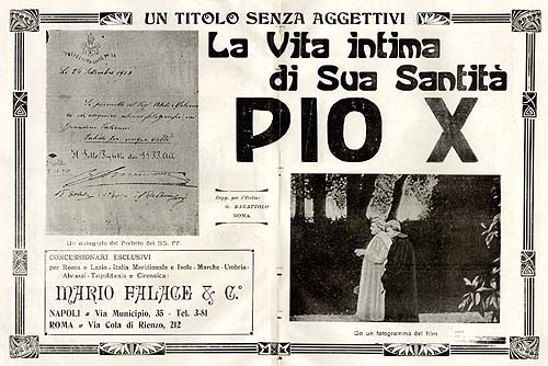 La Vita Intima di Sua Santità Pio X