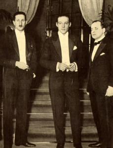 Valentino a Londra 1925