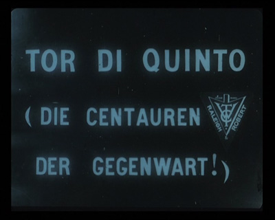 Tor di Quinto, fotogramma del film (dal DVD della Española)