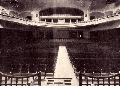 La sala interna del Corso Cinema Teatro