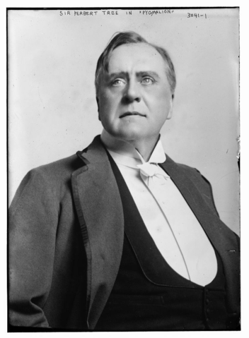 Sir Herbert Beerbohm Tree, Bain News Service Wikimedia Commons