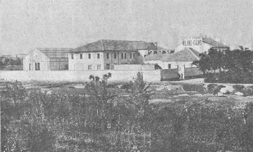 Teatro di posa e laboratorio stampa della Milano Films 1911