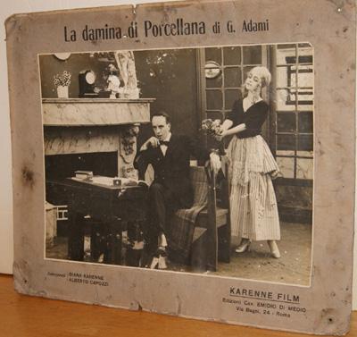 Alberto Capozzi, Diana Karenne, Damina di porcellana 1917