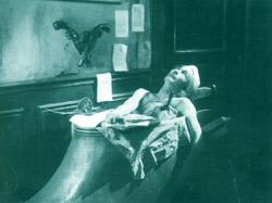 Antonin Artaud interpreta il ruolo di Marat nel Napoléon di Abel Gance (1927)