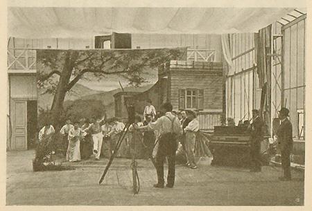 Teatro di posa della Cines (Roma 1906)