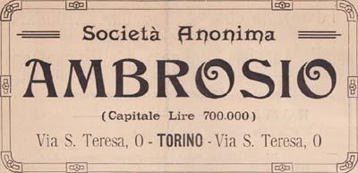 Società Anonima Ambrosio