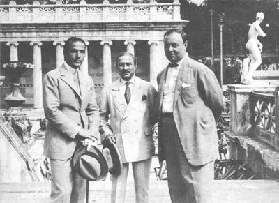 Rodolfo Valentino, Arturo Ambrosio, Emil Jannings