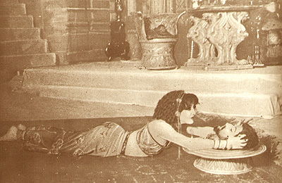 Lyda Borelli interprete di Salomè