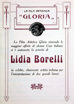 Lyda Borelli Film Artistica Gloria