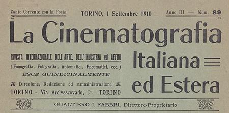 La Cinematografia Italiana ed Estera