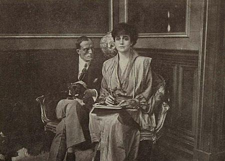 Emilio Ghione e Maria Carmi