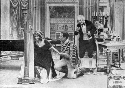 Fernanda Negri e Amleto Novelli, Giovanna la Pallida (1911)