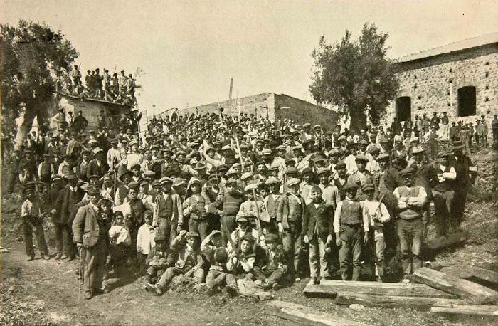 Maestranze dell'Etna Film di Catania (1915), prima della chiusura dello stabilimento.