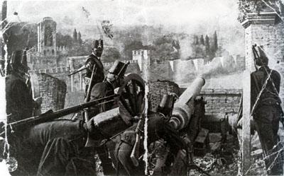 """""""La presa di Roma"""" (Alberini e Santoni 1905)"""