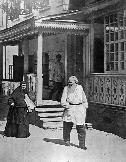Tolstoï et sa sœur