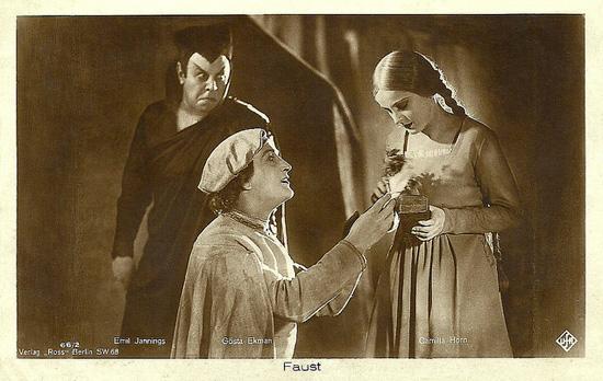 Una scena di Faust