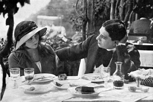Lina Cavalieri e Luciano Muratore, Sposa nella morte