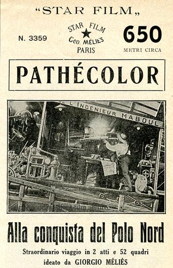 Rivista Pathé, Milano 1912