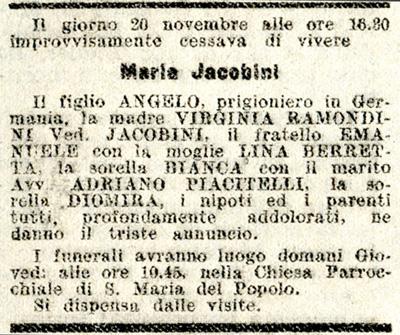 Il Corriere di Roma, 22 novembre 1944
