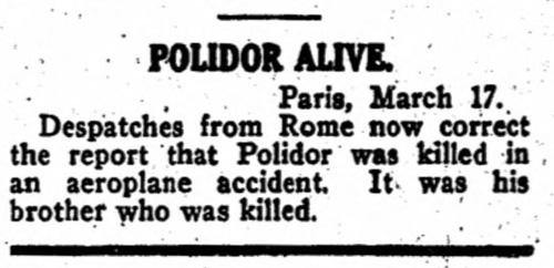 Variety, 19 febbraio 1920
