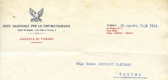 Torino, 20 agosto 1930